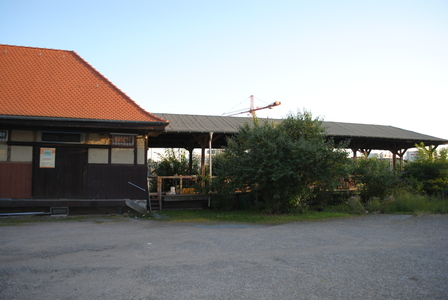 OEG-Bahnhof und Rampe