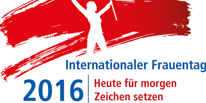 Logo Internationaler Frauentag 2016