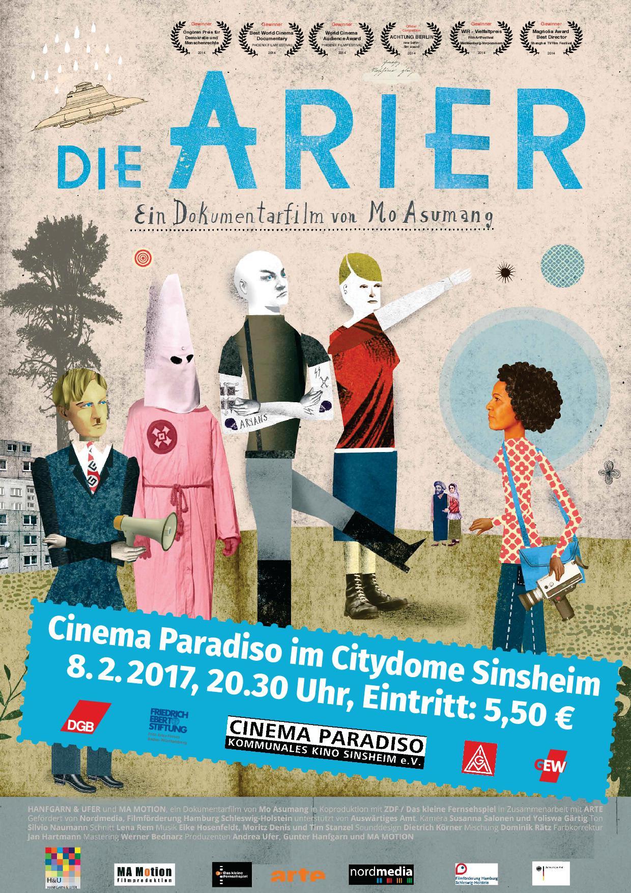 "Filmplakat ""Die Arier"""