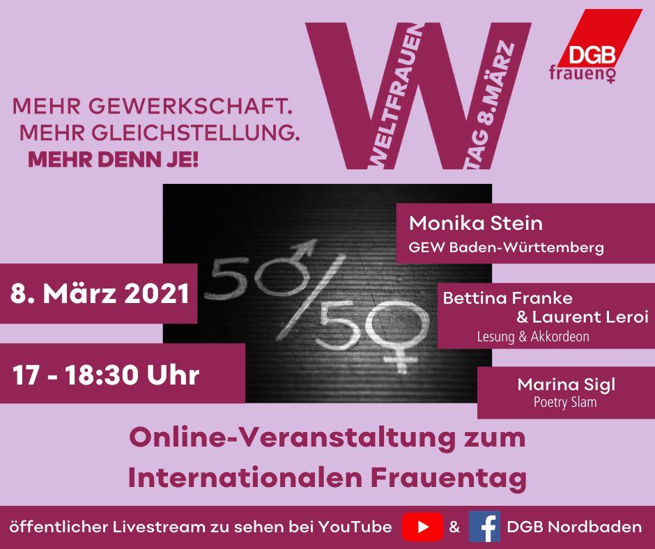 Einladung Frauentag 2021