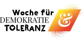 Logo Woche für Demokratie und Toleranz