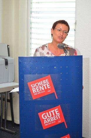 Susanne Wenz, ver.di Mittelbaden