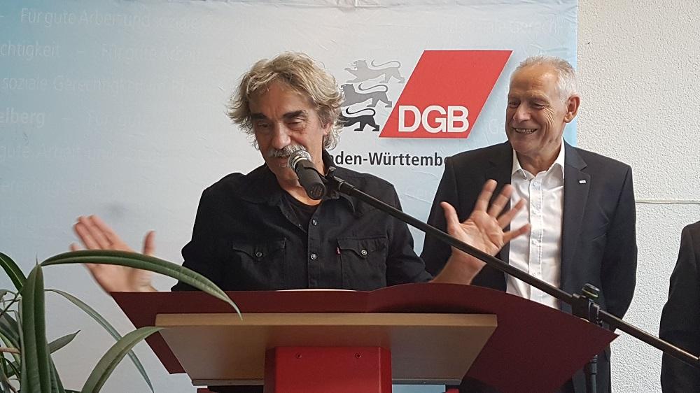 Rede der Gewerkschaften Mannheim