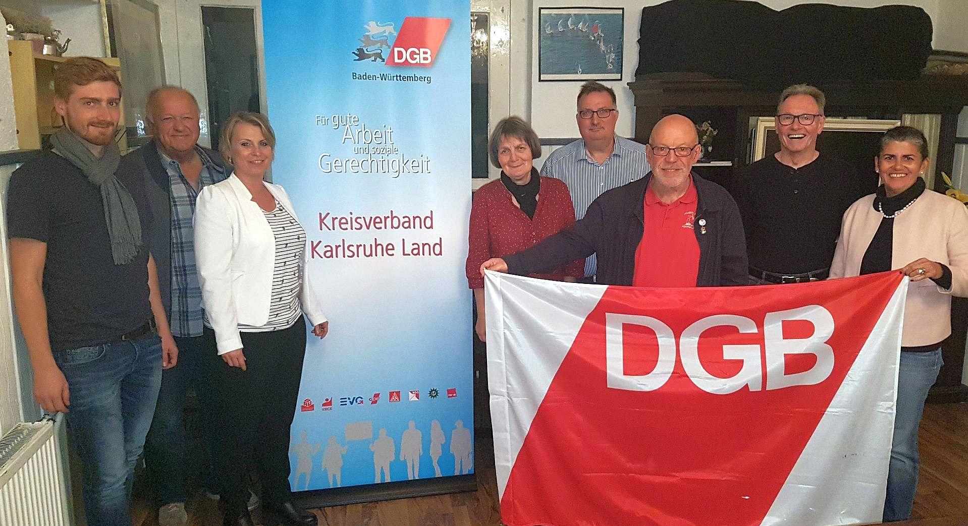 Konstituierung DGB Ka-Land