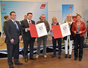 Verleihung der Hans-Böckler-Medaillen