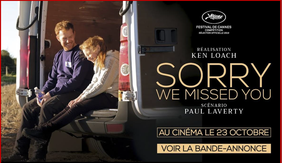 "Filmplakat ""Sorry we missed you"""