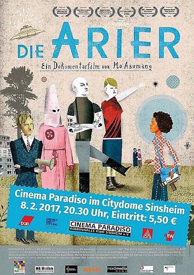 Filmplakat Die Arier
