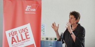Annelie Buntenbach, DGB Bundesvorstand