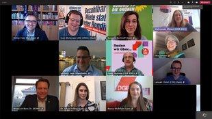 Videokonferenz zur Landtagswahl in Mannheim