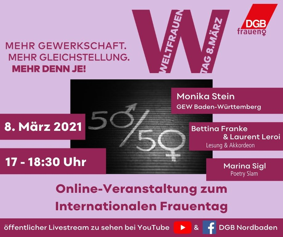 Weltfrauentag 2021 DGB