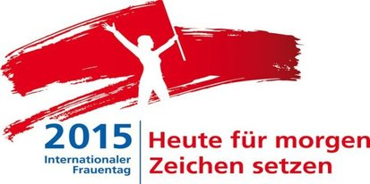 Logo zum Internationalen Frauentag 2015